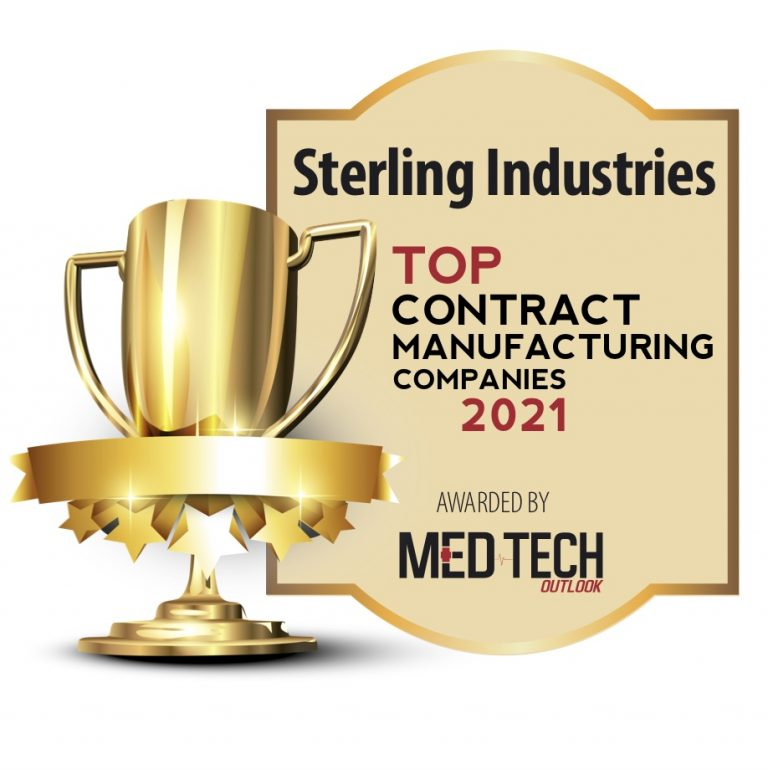 MedTech Outlook Magazine names Sterling to Top 10 Medical Contract Manufacturers